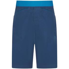 La Sportiva Flatanger Spodnie krótkie Mężczyźni, opal/neptune